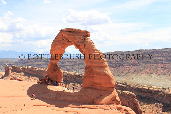 Delicate Arch, Arches National Park.