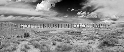 Arches National Park, Utah. Black and White.