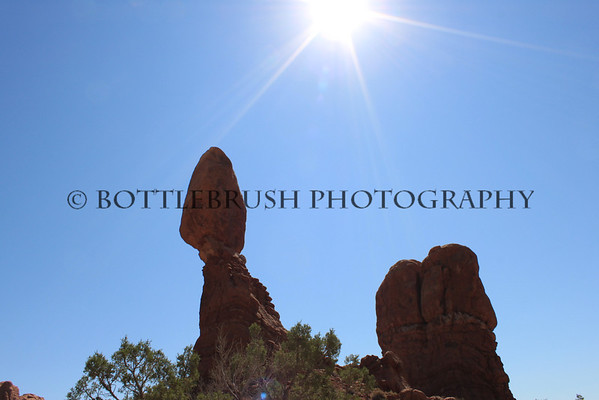 Balanced Rock, Arches National Park.