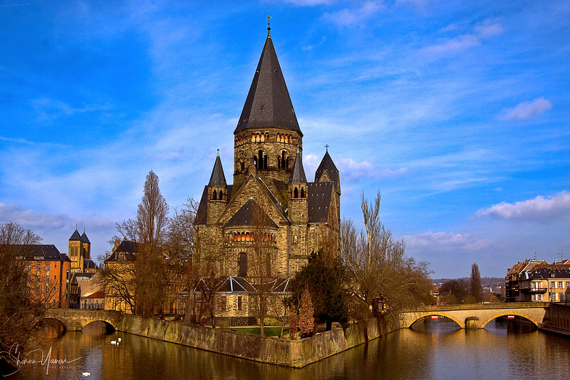 Church in Metz, France