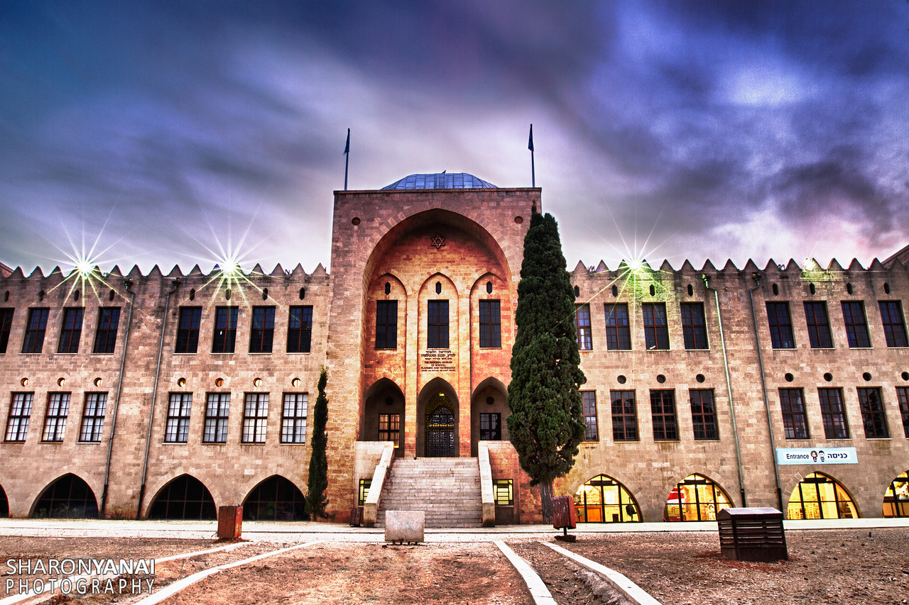 Historic Building of the Technion, Haifa, Israel