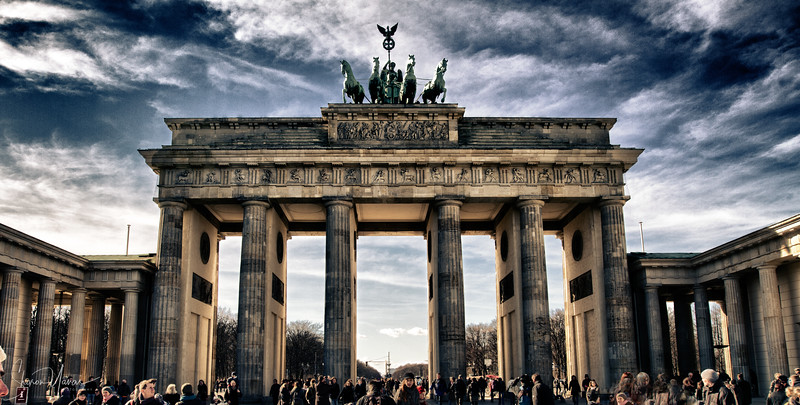 HDR of the Brandenburg Gate, Berlin, Germany