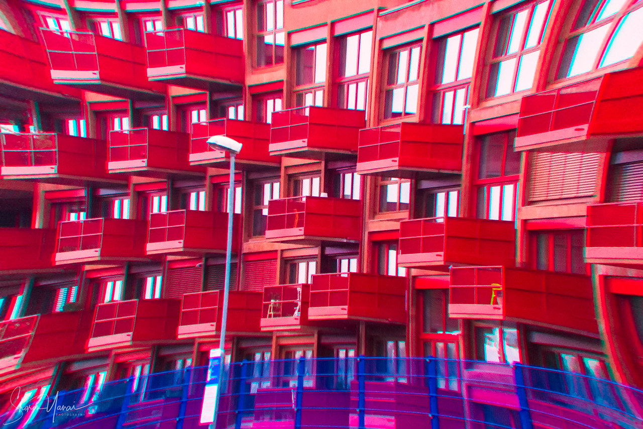Red Balconies