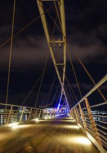 Tempe Town Lake footbridge