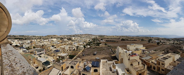 Gozo from above