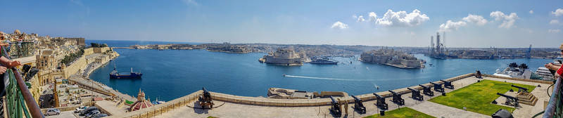 Valletta Harbor panorama
