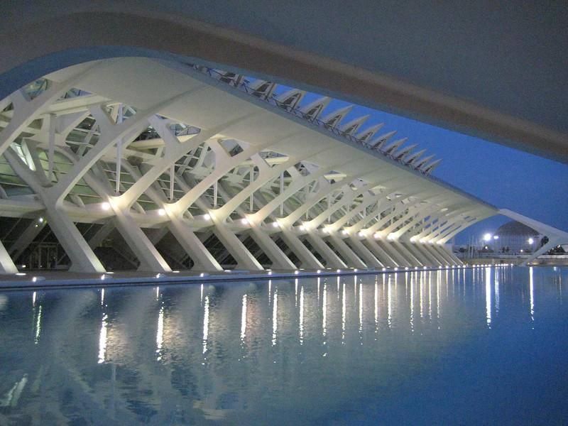 Calatarava's Architecture in Valencia, Spain