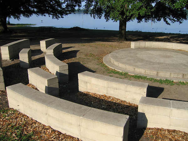 The community amphitheater in morning sunlight (191_9199)