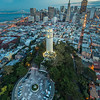 Above Coit Tower