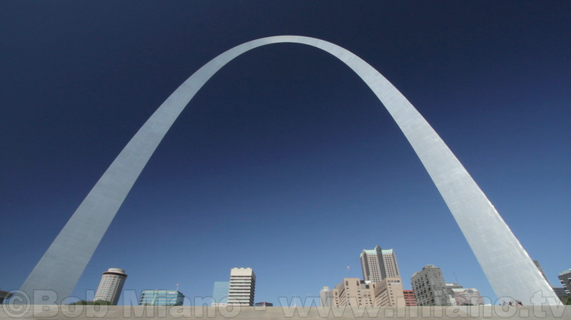 "The Jefferson National Expansion Memorial - more commonly known as ""The Gateway Arch.""  This national monument was the focus of our documentary ""The Gateway Arch: A Reflection of America.""  During the two-year production process we grew to understand that the Arch is not simply a symbol of St. Louis but is known internationally as one of a handful of great symbols of America."