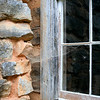 Window detail from Oliver's cabin at Cades Cove, Tennessee