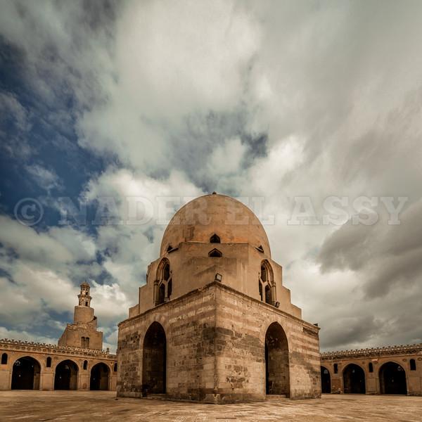 Winter Sky at Ibn Tulun
