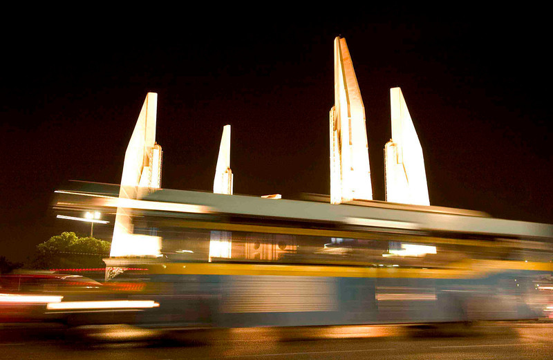 <h4> Speeding Through Bangkok</h4>Bangkok, Thailand