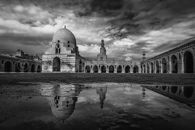 Mosque in Reflection