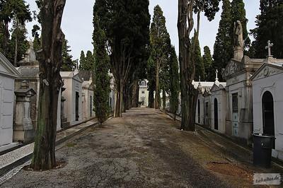 Cemiterio dos Prazeres, Lisbon, Portugal