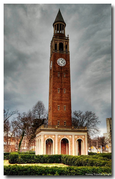 University of North Carolina's Bell Tower<br /> Chapel Hill Nc