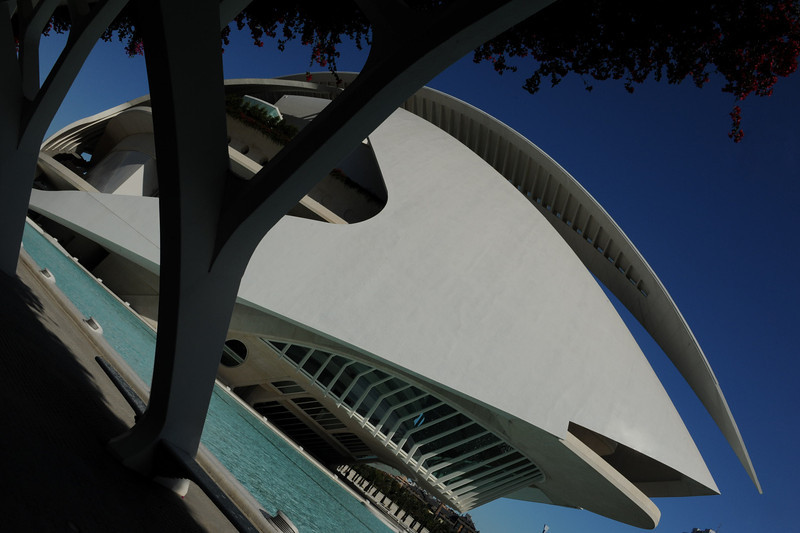 <h4> Welcome To The Opera</h4>Valencia, Spain