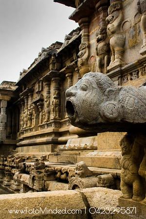 Water outlet. Imagination has no limits. Big temple, Tarasuram, India  Photography: Karthik TK