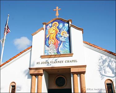St John Vianney Chapel Balboa Island, CA.