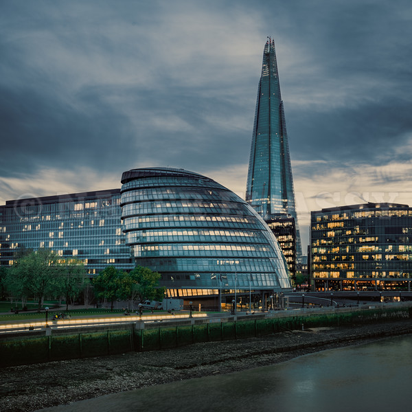 London City Hall and The Shard