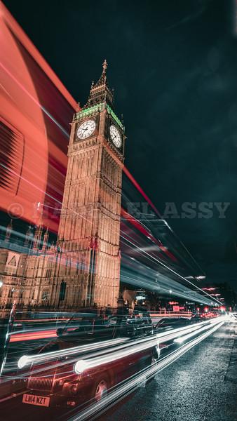 Traffic Under Big Ben