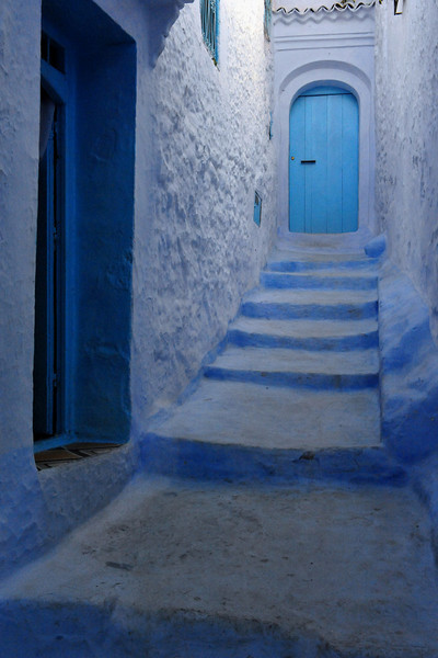 <h4>Blue</h4>Chefchaouen, Morocco