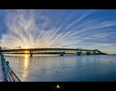 Auckland Harbour Bridge - HDR Panorama