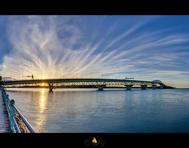 Auckland Harbour Bridge - HDR Panorama
