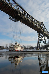 Transporter Bridge, Rendsburg, Germany