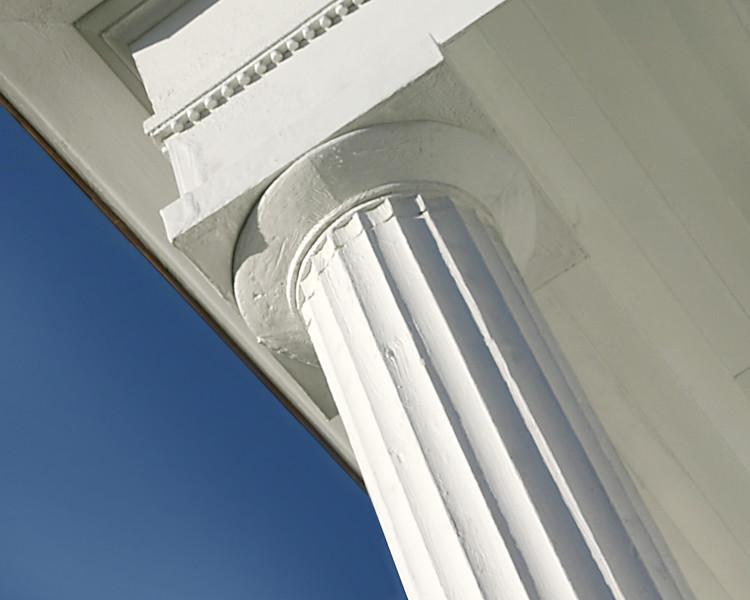Column at Barrington Hall, Roswell, Georgia