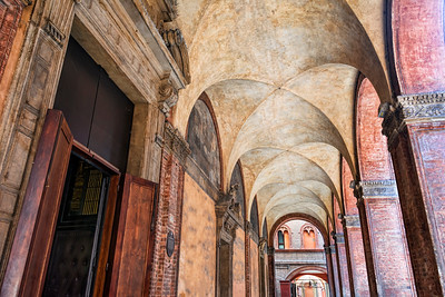 Bologna Tower Portico