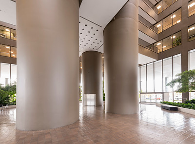 Architectural photo of Boise Plaza lobby
