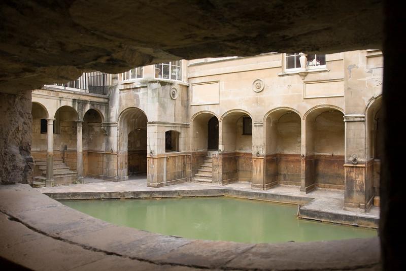 Roman Baths in Bath England