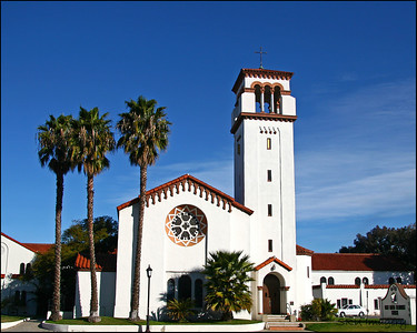 Church in Newport, CA.