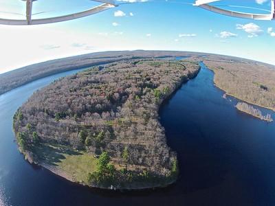 Burnet Island State Park Wisconsin, Chippewa River.