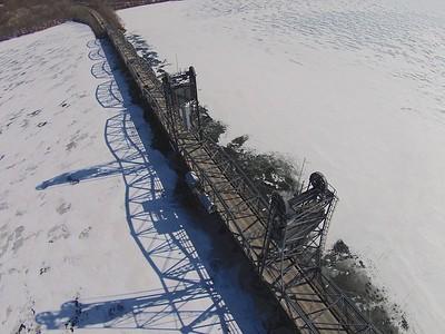 Stillwater lift bridge over the St. Croix River.