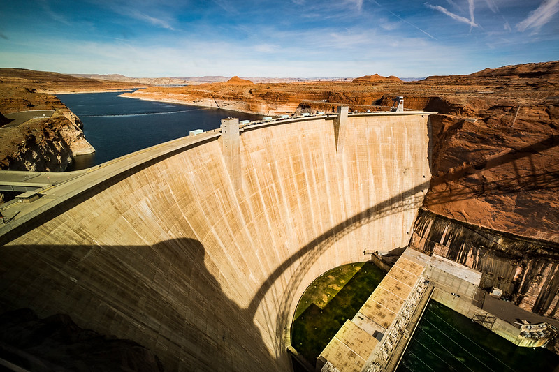 Lake Powell Dam   Page, AZ