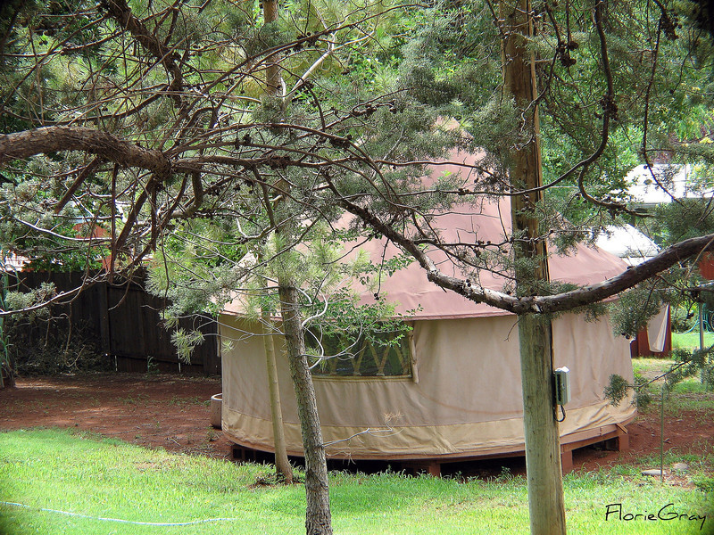 Yurt (?) in Sedona