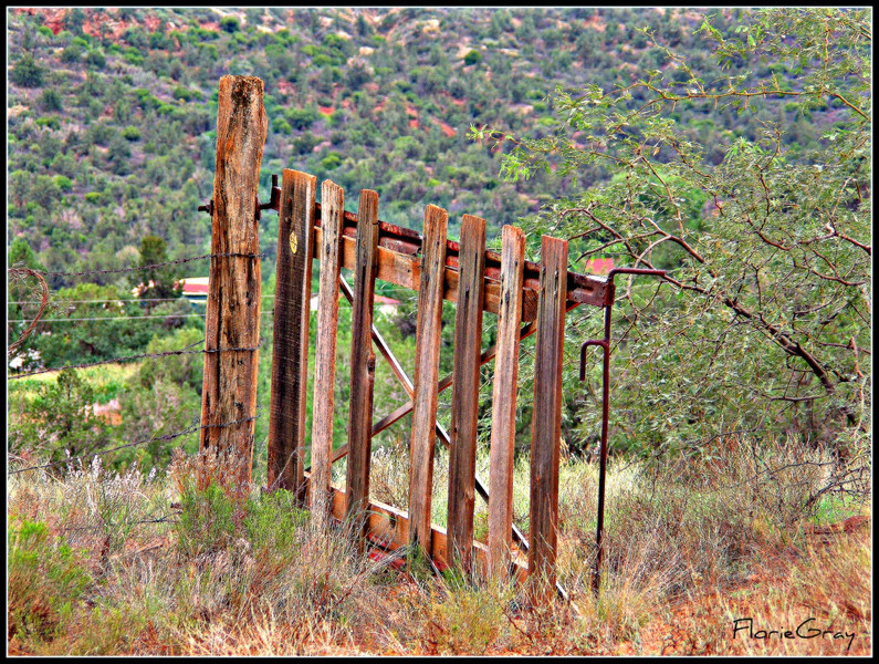 Beautiful Gate; Sedona, Arizona