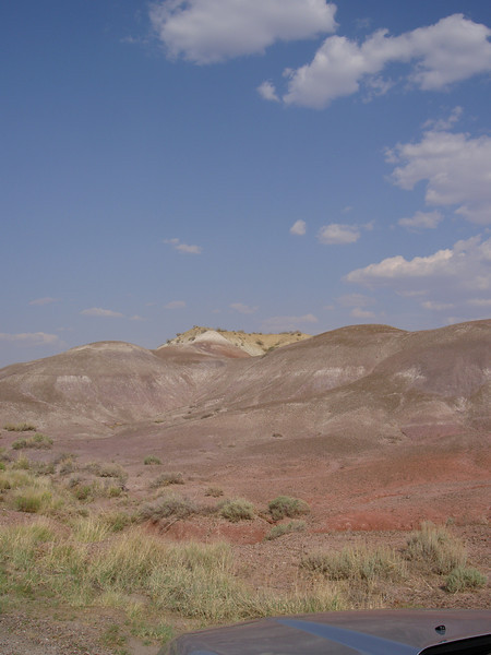 Detail, Painted Desert, Arizona