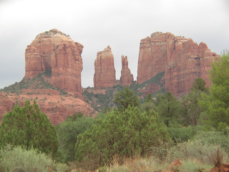Mystical Cathedral Rock, Sedona, AZ