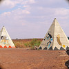 Faux Teepees, Rt. 66, of course