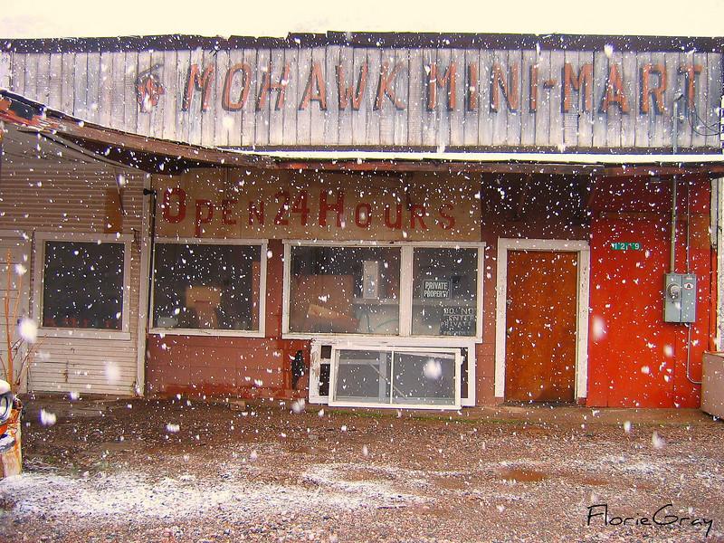 Open 24 Hours? <br /> Blizzard in the high desert, near Sedona, AZ