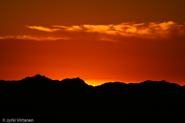 Mt. Lemmon Sunset - Tucson, AZ, USA