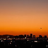 This was shot hand-held from my hotel in Tempe at sunset from a high point on the grounds. This image is of a plane taking off at Phoenix airport with the city in the background.. probably one of my favorite shots for the whole trip..