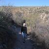 Christmas Eve hike, 2010