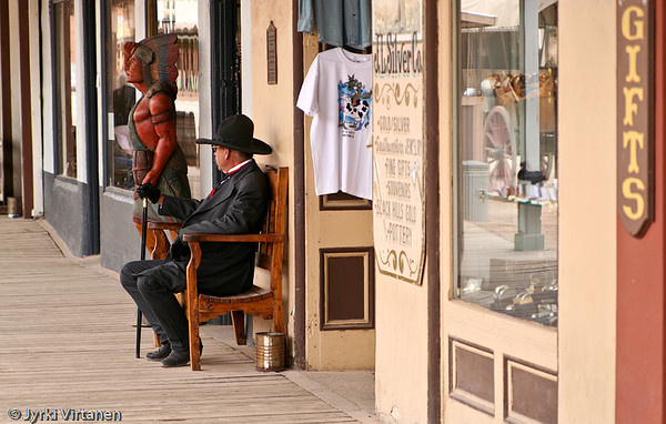 Tombstone Man - Tombstone, AZ, USA