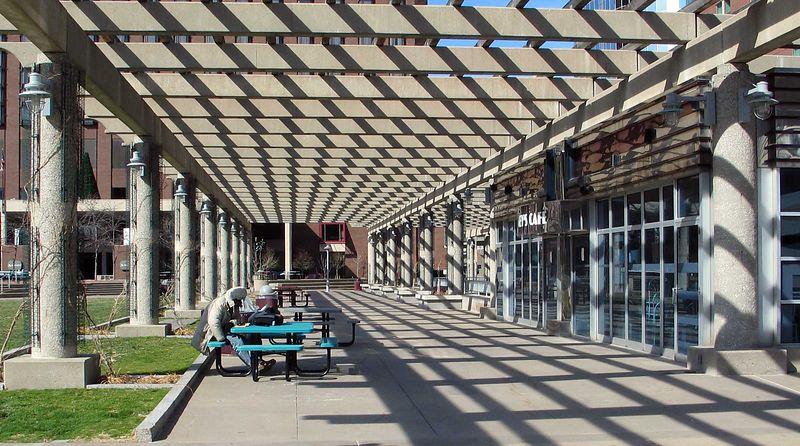 Barney Allis Plaza, Kansas City.