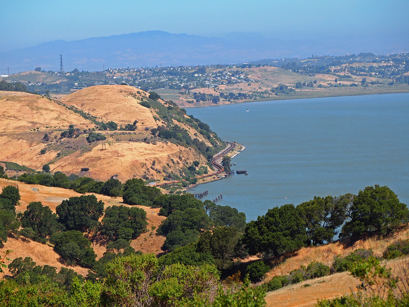 Carquinez Strait from Franklin Ridge