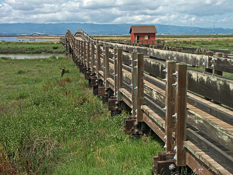 Don Edwards San Francisco Bay National Wildlife Refuge - Viewing Bridge